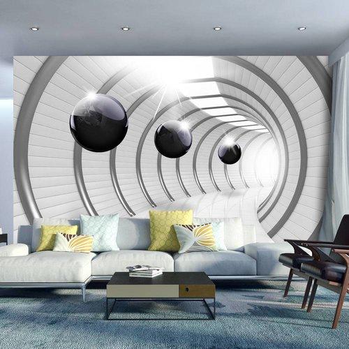 Fotobehang - Futuristic Tunnel