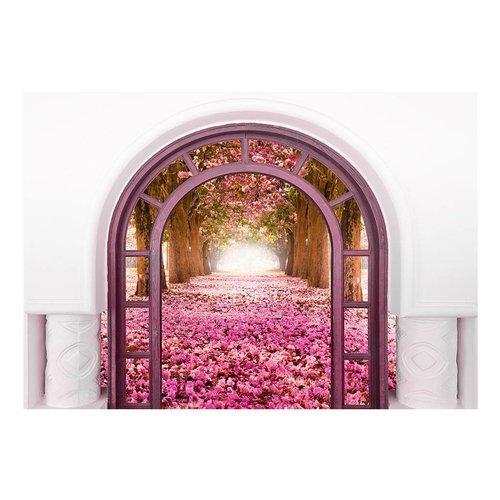 Fotobehang - Door To The Magic Land