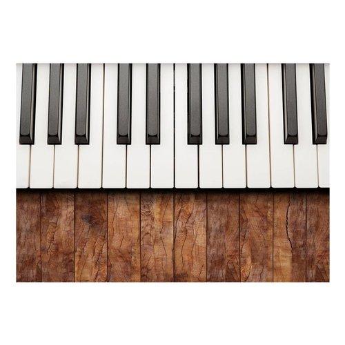 Fotobehang -Geïnspireerd door Chopin - Mahonie, piano