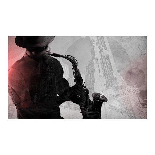 Fotobehang - Frontman, saxofoon