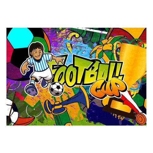 Fotobehang - Football Cup, voetbal
