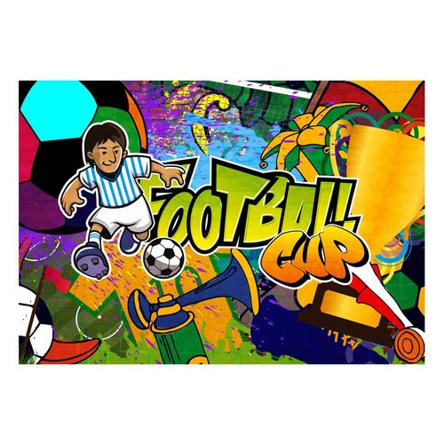 Fotobehang - Football Cup
