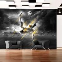 Fotobehang - Football legend, voetbal
