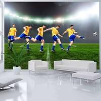 Fotobehang - Great footballer