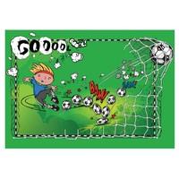 Fotobehang - Eerste doelpunt, voetbal