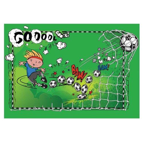 Fotobehang - First gol