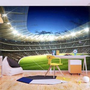 Fotobehang - Voetbal stadion