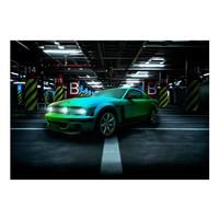Fotobehang - Green arrow, auto