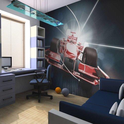 Fotobehang Formule 1.Fotobehang Snelheid En Dynamiek Van De Formule 1