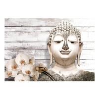 Fotobehang - Lachende Boeddha