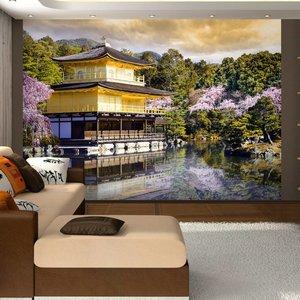 Fotobehang - Japanese landscape