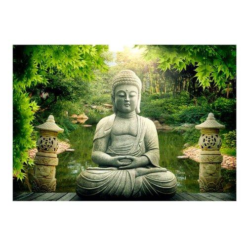 Fotobehang - De tuin van Boeddha