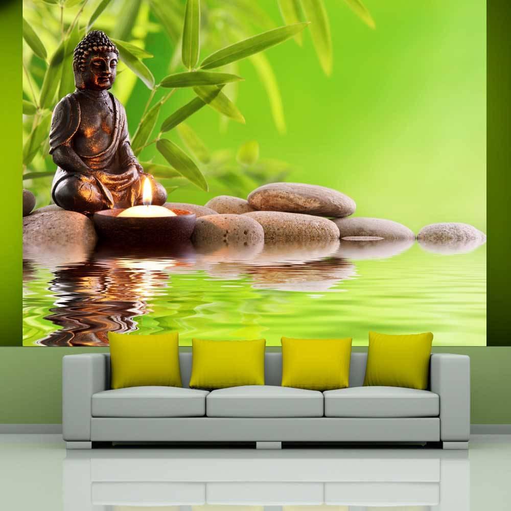 Fotobehang - Praktijk van zelf-kennis, Boeddha