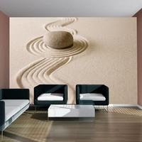 Fotobehang - Zen zand tuin
