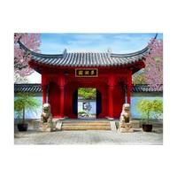 Fotobehang - Chinese botanical garden of Montreal (Quebec Canada)