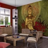 Fotobehang - Gouden Boeddha