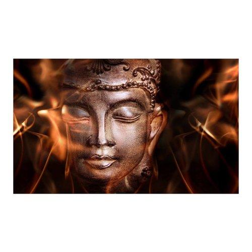 Fotobehang - Gezicht van Boeddha