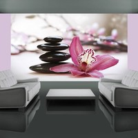 Fotobehang - Ontspanning - Orchidee