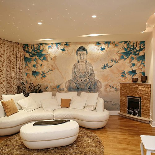 Fotobehang - De Boeddha van geluk