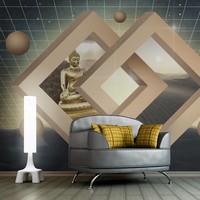 Fotobehang - Nieuwe dimensie van het boeddhisme