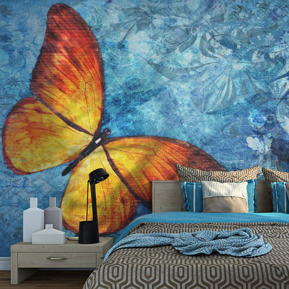 Fotobehang - Fiery butterfly