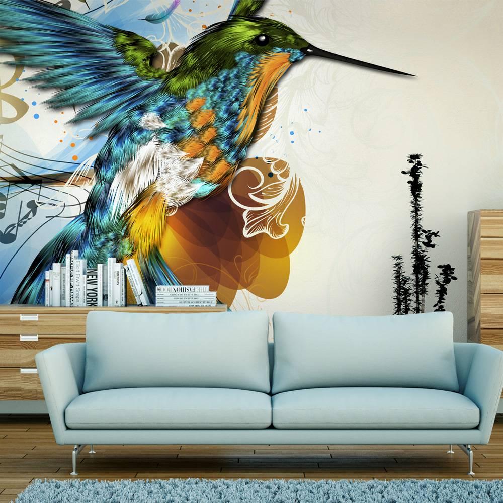 Fotobehang - Marvelous bird
