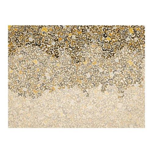 Fotobehang - Art en Vlinders , beige bruin , 5 maten