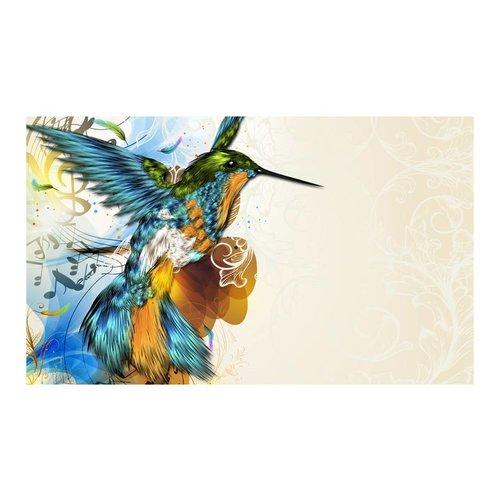 Fotobehang - Kolibrie , multi kleur