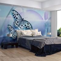 Fotobehang - Planet of butterflies