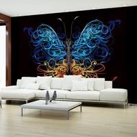 Fotobehang - Vlinder art , multi kleur , 5 maten