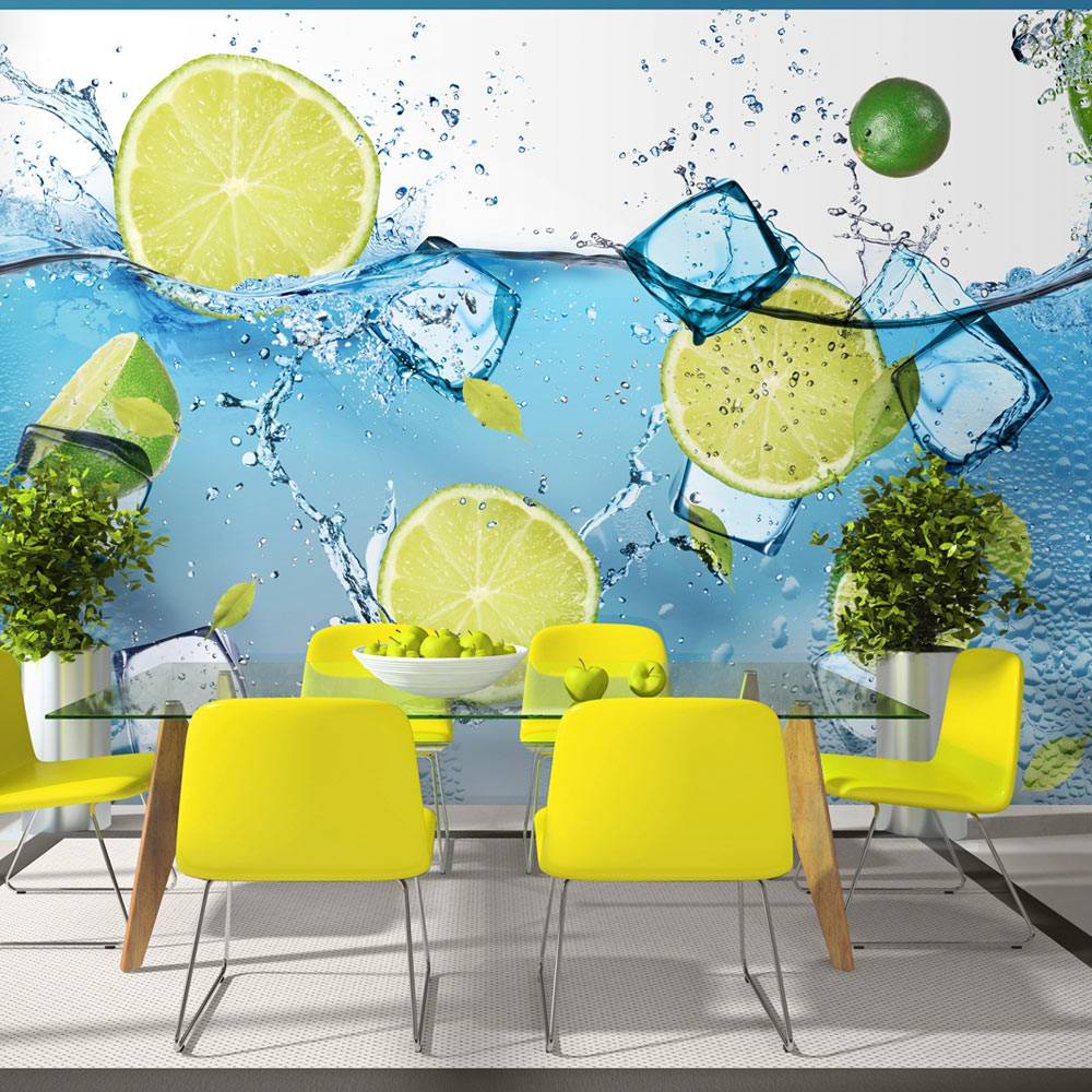 Fotobehang - Verfrissende limonade