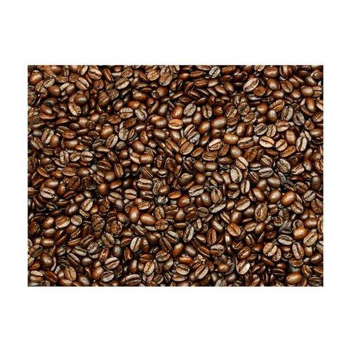 Fotobehang - Koffie en nog eens koffie , bruin zwart