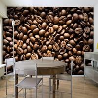 Fotobehang - Geroosterde koffiebonen