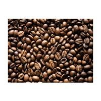 Fotobehang - Geroosterde koffiebonen , bruin zwart