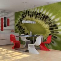 Fotobehang - fruit: kiwi