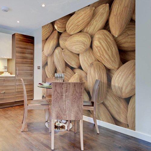 Fotobehang - Tasty almonds
