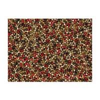 Fotobehang - Mozaïek van gekleurde peper , multi kleur
