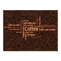 Fotobehang - Latte, espresso, cappuccino, con leche...... , beige bruin