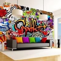 Fotobehang - Colorful Graffiti