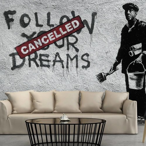 Fotobehang - Dreams Cancelled - Banksy