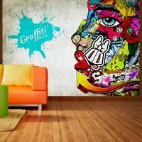 Fotobehang - Graffiti beauty
