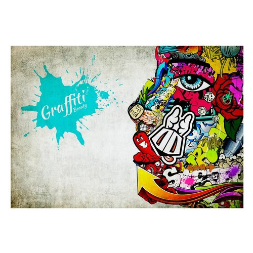 Fotobehang - Graffiti schoonheid