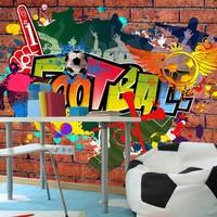 Fotobehang - Football fans!