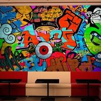 Fotobehang - Graffiti art