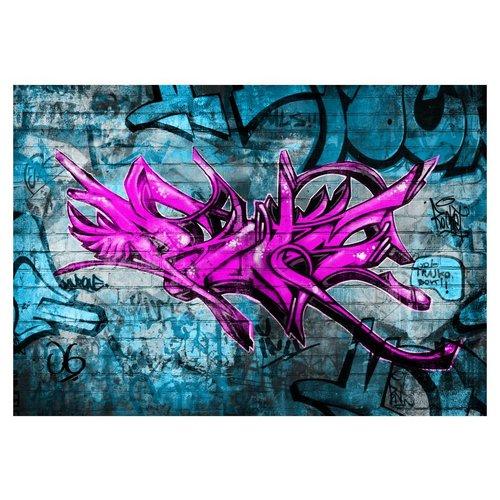 Fotobehang - Anonieme graffiti