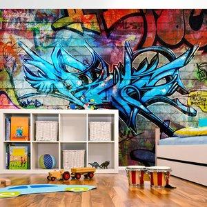 Fotobehang - Art crime - Graffiti