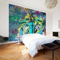 Fotobehang - Graffiti maker