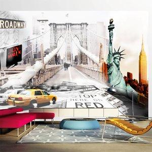 Fotobehang - New York streets