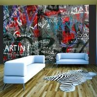 Fotobehang - Stedelijke graffiti