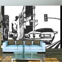 Fotobehang - Stedelijke style - street art